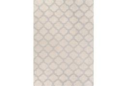 108X156 Rug-Ariel Light Grey