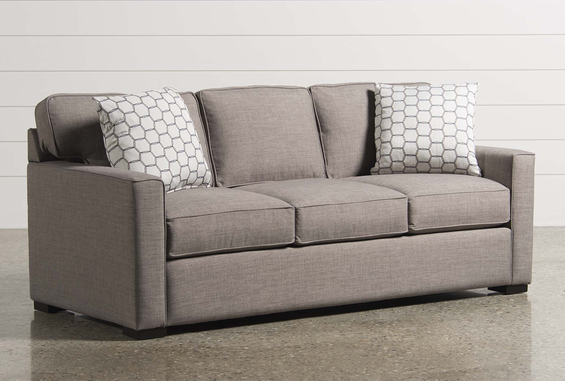 silas memory foam queen sleeper living spaces rh livingspaces com IKEA Sofa Beds for Small Space Living Spaces Futon