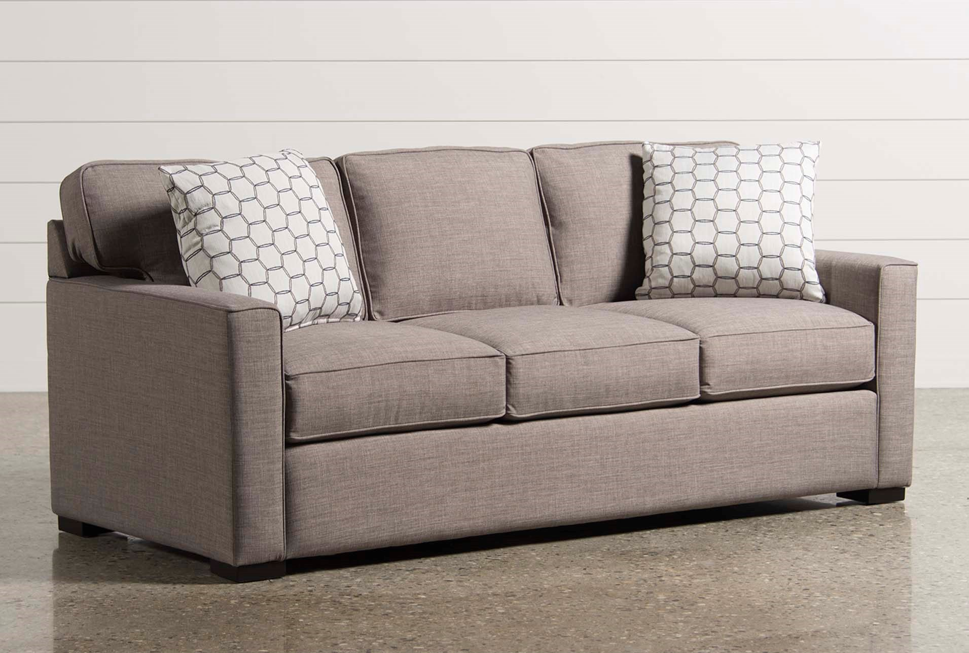Silas Memory Foam Queen Sleeper Living Spaces ~ Sleeper Sofa Memory Foam