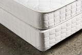 Cape Town California King Mattress W/Low Profile Foundation - Back