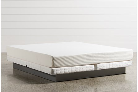 Eden California King Mattress W/Low Profile Foundation - Main