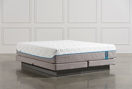 Tempur-Pedic Cloud Luxe Cal King Mattress W/Low Profile Foundation