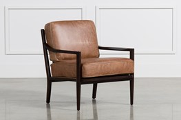 Dominic Saddle Accent Chair