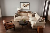 Dominic Saddle Accent Chair - Room