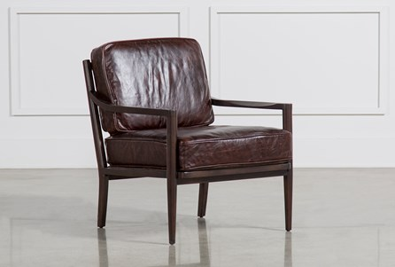 Dominic Cocoa Accent Chair