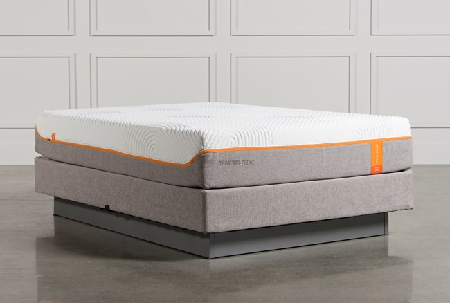 Tempur-Pedic Contour Elite Queen Mattress W/Foundation