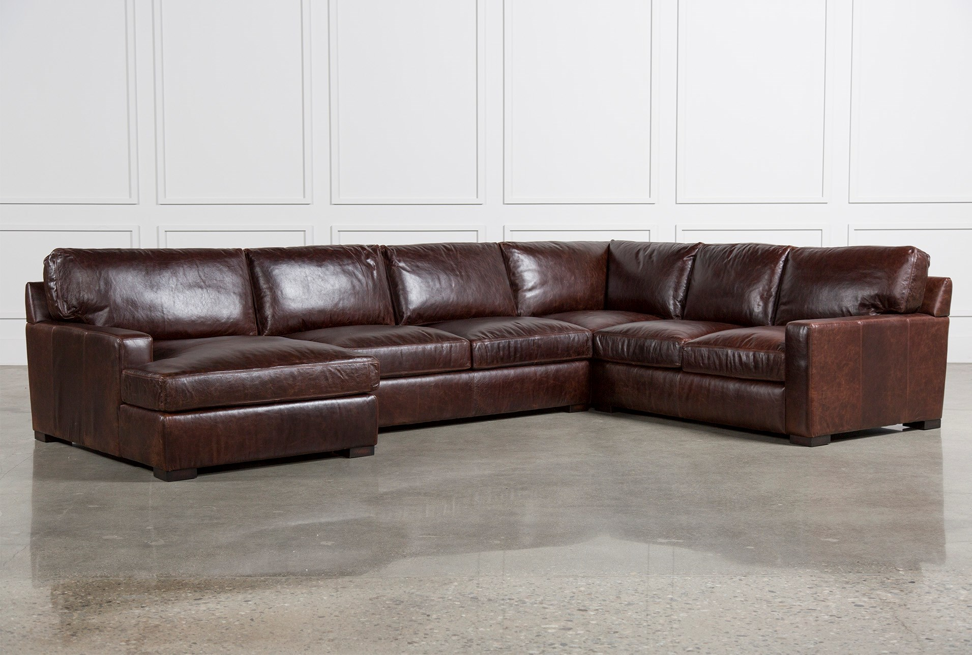 leather one sofa discussing sectional no design why home is distressed