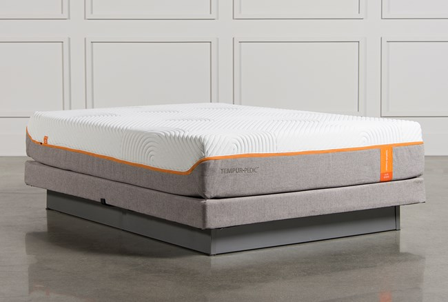 Tempur-Pedic Contour Elite Queen Mattress W/Low Profile