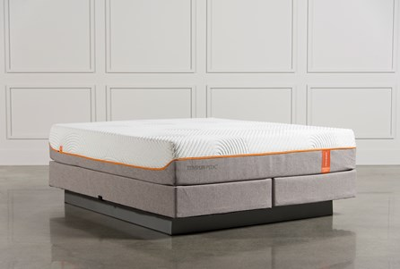 Tempur-Pedic Contour Rhapsody Luxe Cal King Mattress W/Foundation