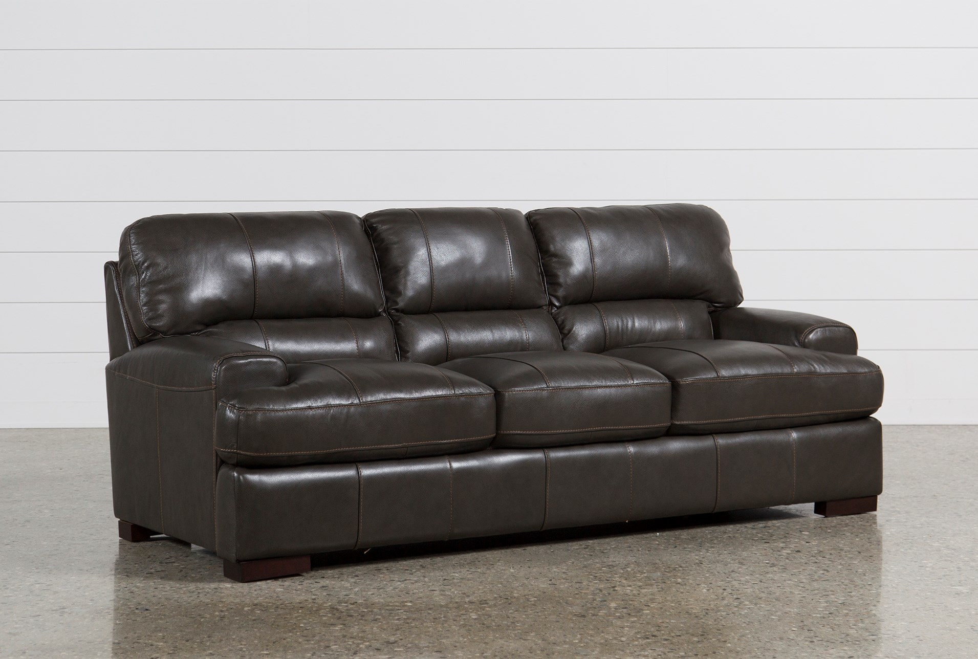 Display Product Reviews For Andrew Leather Sofa