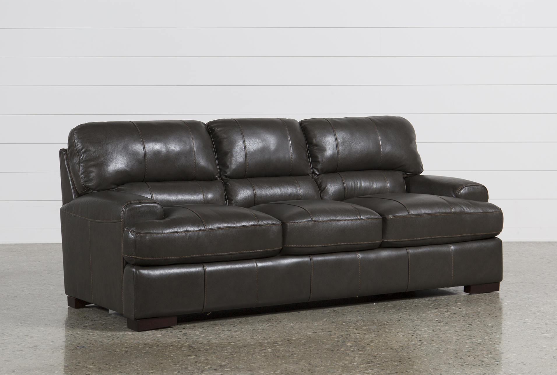 Gentil Display Product Reviews For ANDREW LEATHER SOFA