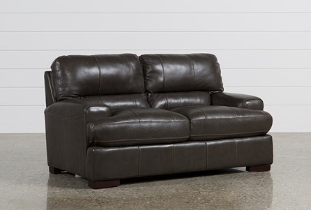 Andrew Leather Loveseat