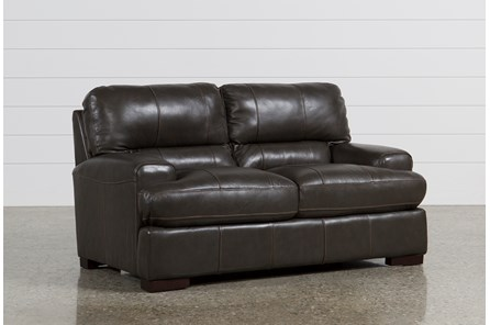 Andrew Leather Loveseat - Main