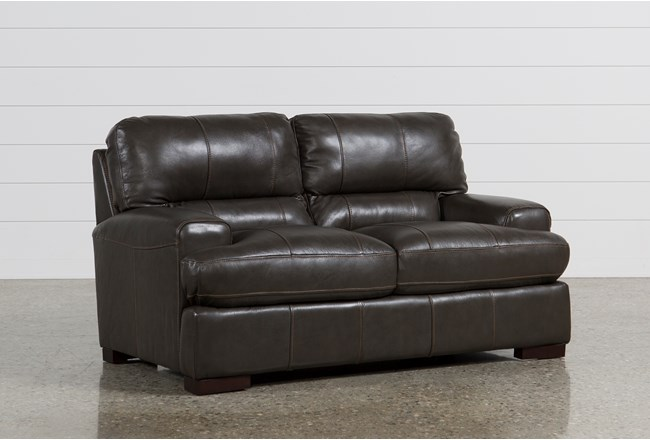 Andrew Leather Loveseat - 360