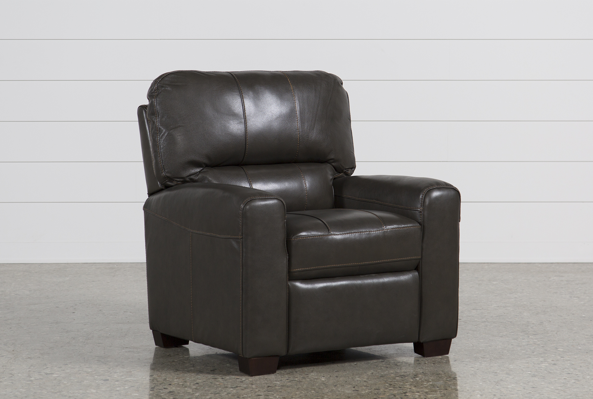 Andrew Leather Recliner (Qty: 1) Has Been Successfully Added To Your Cart.