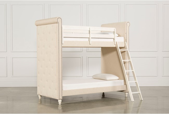 Emily Twin Twin Bunk Bed Living Spaces