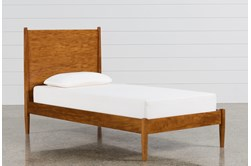 Alton Cherry Twin Platform Bed