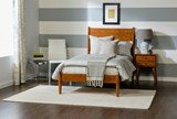 Alton Cherry Twin Platform Bed - Room