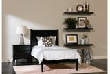 Alton Black Twin Platform Bed - Room