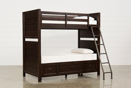 Elliot Twin Over Twin Bunk Bed With Underbed Storage