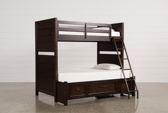 Elliot Twin Over Full Bunk Bed With Underbed