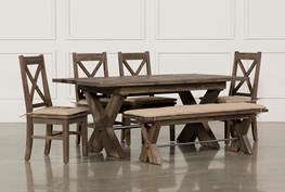 Mallard 6 Piece Extension Dining Set
