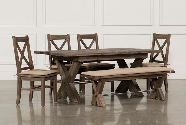 Mallard 6 Piece Extension Dining Set - 360