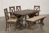 Mallard 6 Piece Extension Dining Set - Left