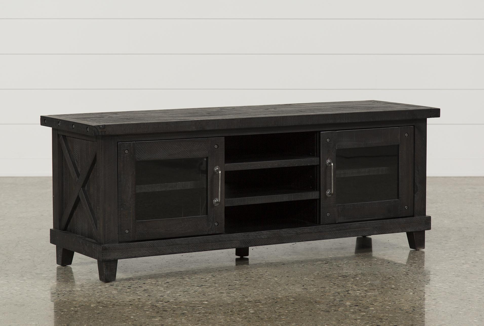 Jaxon 65 Inch TV Stand  360 Black Inch Tv Stand T89