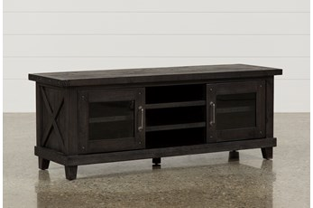 Jaxon 65 Inch TV Stand With Glass Doors