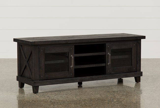 Jaxon 65 Inch TV Stand With Glass Doors - 360