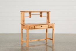 Summit Caramel Desk/Hutch