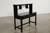 Summit Black Desk/Hutch - Top