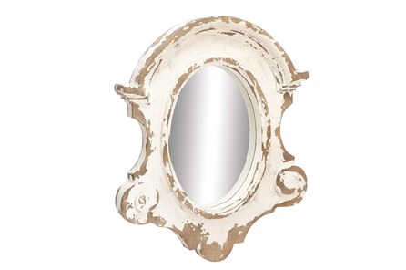 Mirror-White Wash 35X43 - Main