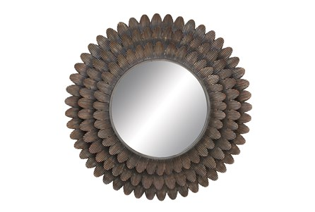 Mirror-Petal Circle 34X34