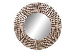 Mirror-Metal Ruched 41X41