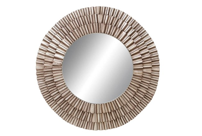 Mirror-Metal Ruched 41X41 - 360