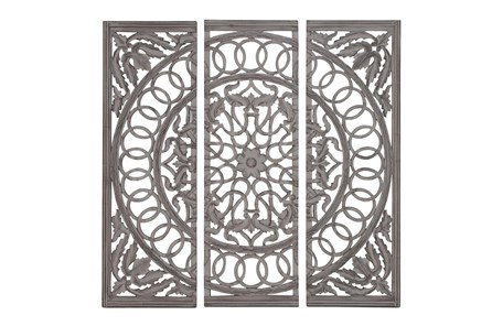 3 Piece Wood Scroll Panels - Main