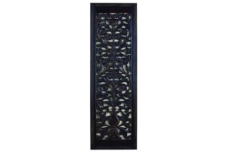 Black Wash Wall Panel