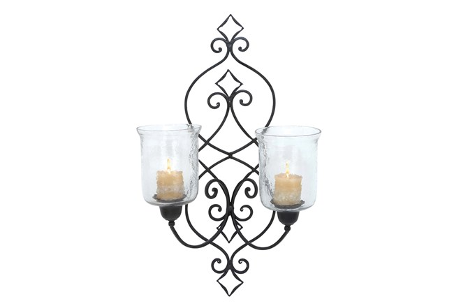 Maureen 2-Candle Sconce - 360