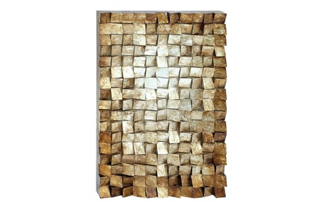 Textured Wood Wall Decor - Main