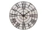 32 Inch Metal Roman Clock - Signature