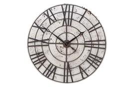 32 Inch Metal Roman Clock