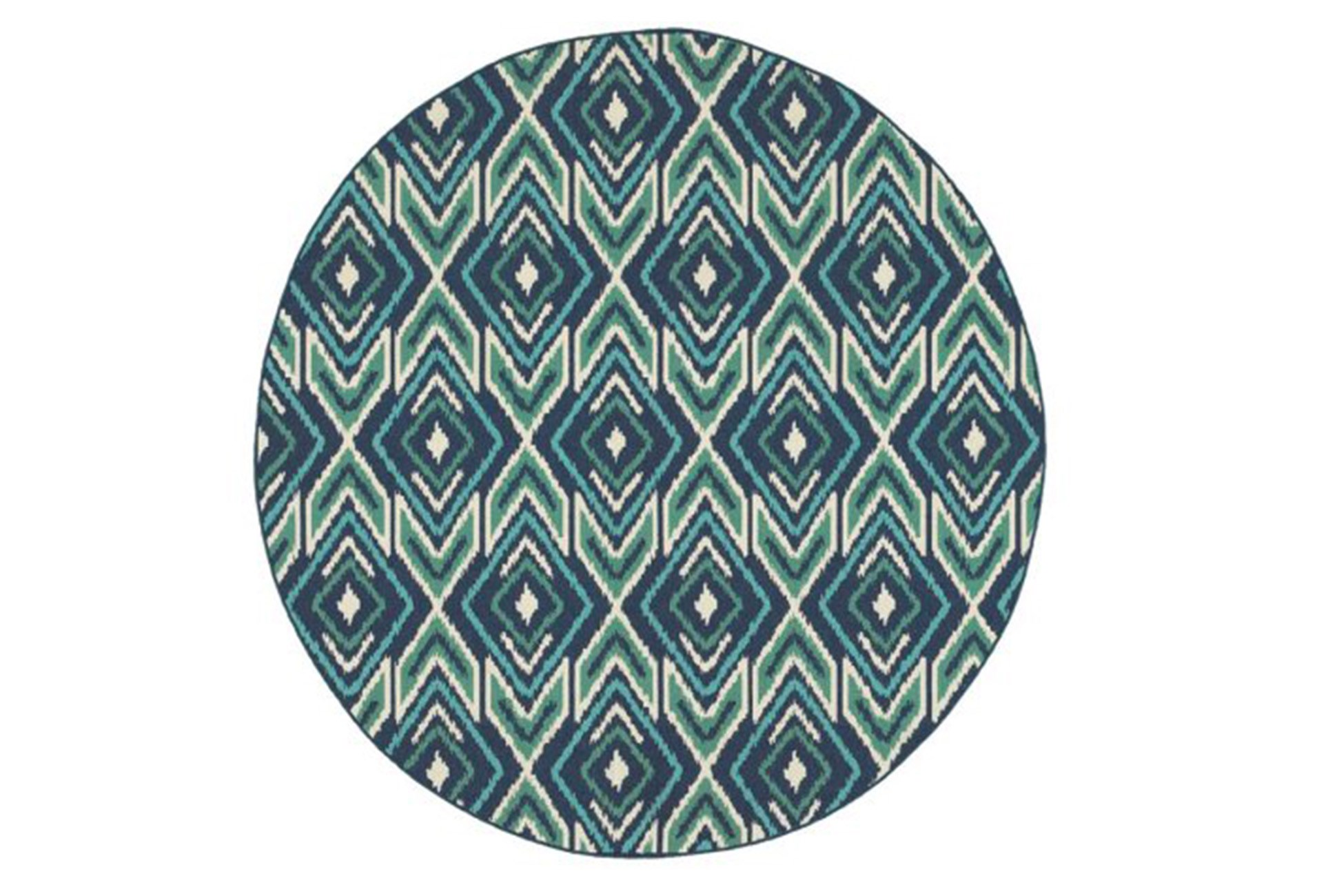 94 inch round outdoor rug west bay ikat qty 1 has been successfully added to your cart