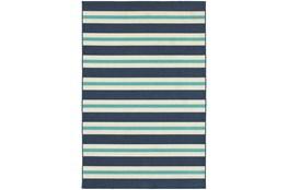 22X34 Outdoor Rug-Cabana Stripes Blue