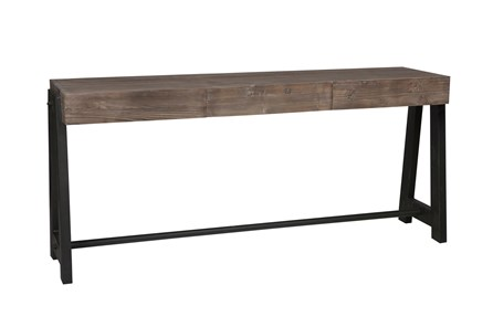Marcellus Mocha Console Table - Main