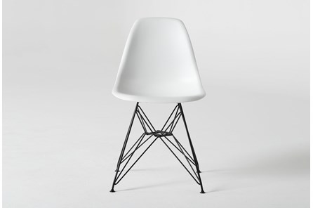 Alexa White Side Chair