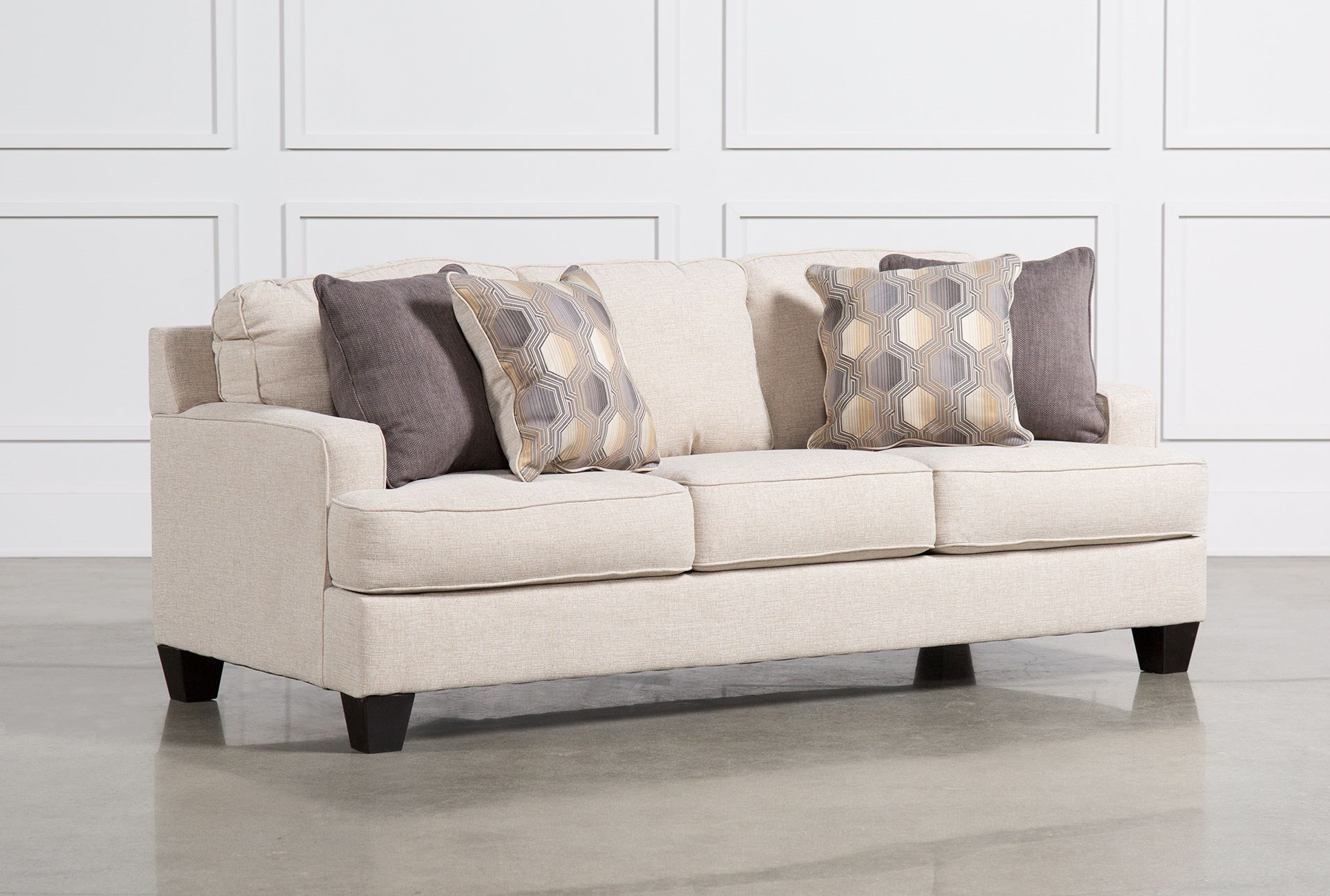 brielyn linen queen sofa sleeper. brielyn linen sofa  living spaces