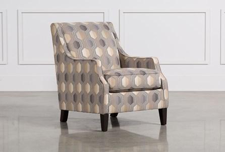 Brielyn Grey Accent Chair