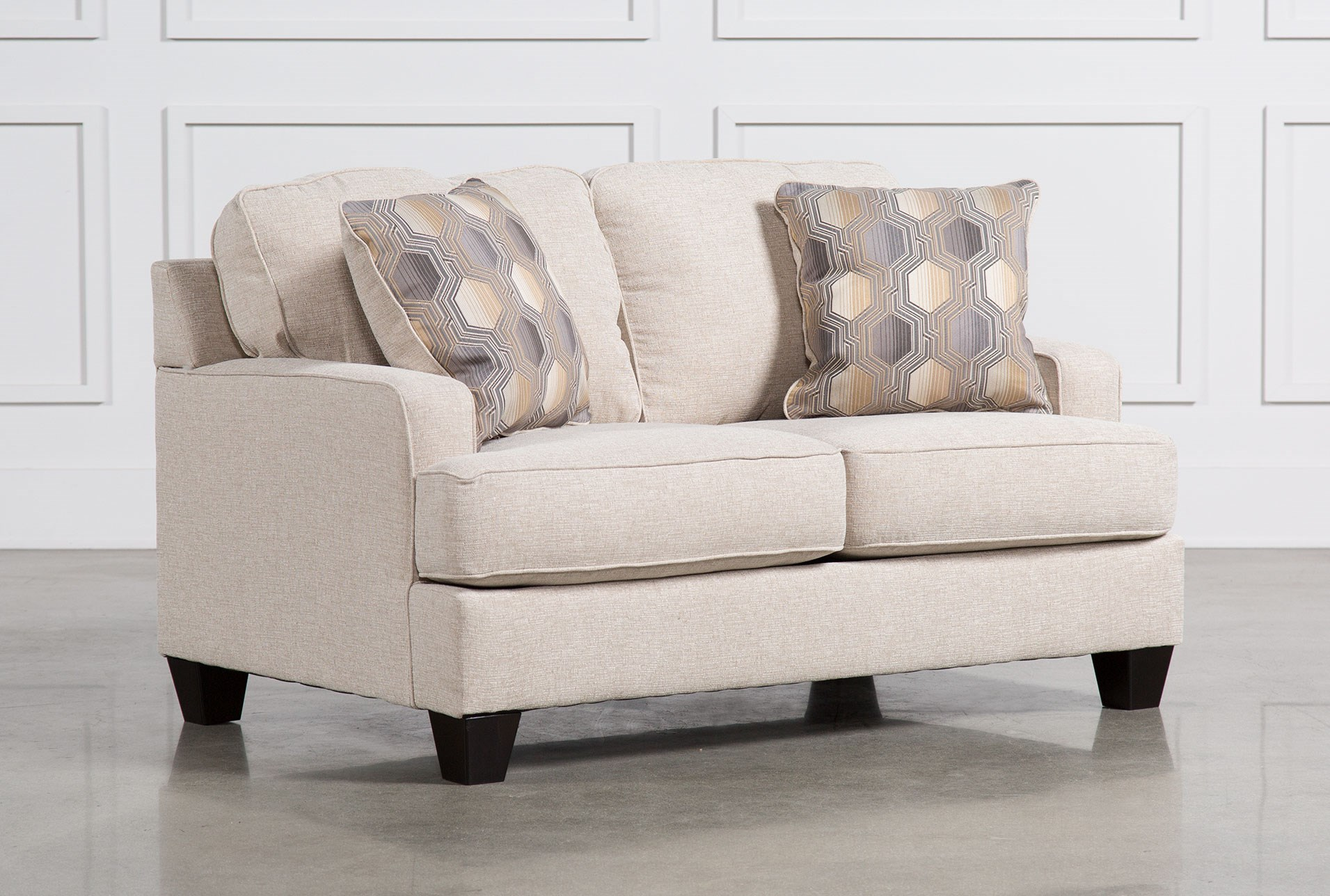 brielyn linen loveseat. loveseats  living spaces